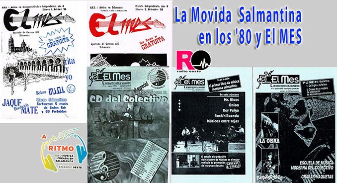 A Nuestro Ritmo 50 La Movida Salmantina en los '80 y El MES