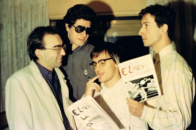 El MES (Fernando Labajos y FerCyborg) entrevista a Toño y Juan en 1989