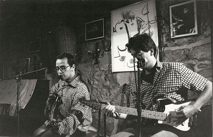 Rita y Yo en el Corrillo Cava Jazz café 2