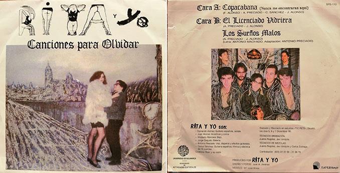 Single de Rita y Yo (Dic-88)