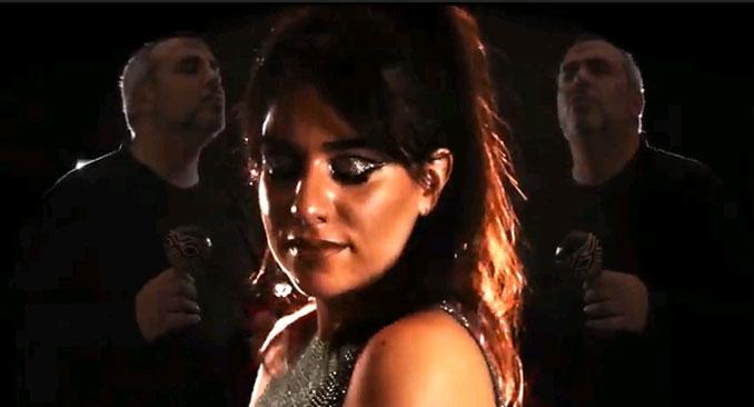 """Fátima y Chefo en el videoclip """"Si Alguna Vez"""""""