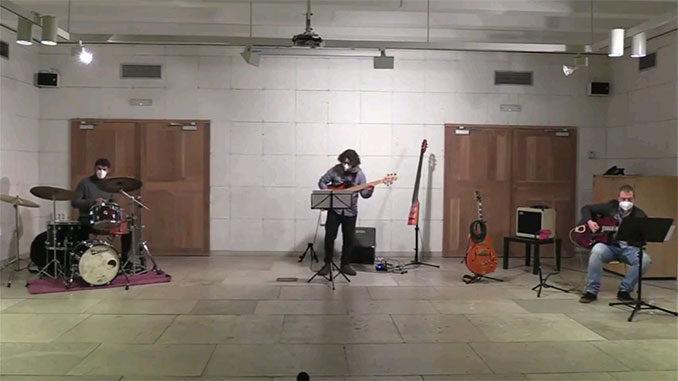 Alejandro Lucas trío en concierto