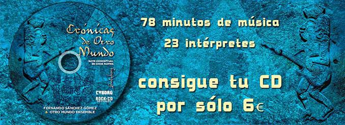 comprar CD Cronicas de Otro Mundo