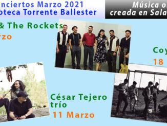 conciertos marzo 2021 Bibl. Torrente Ballester