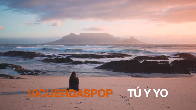10CuerdasPop Tú y yo, cabecera del videoclip