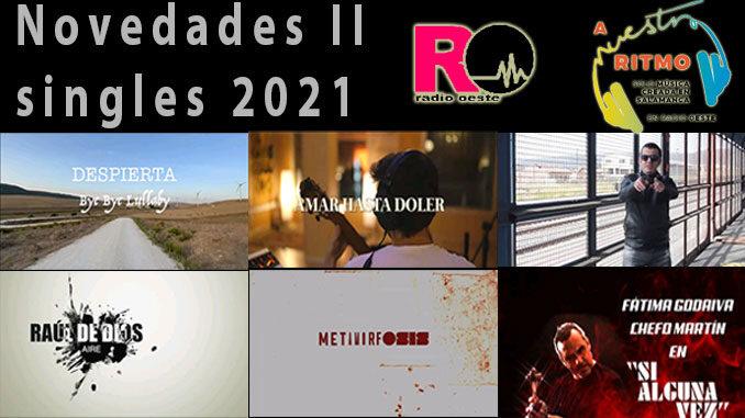A Nuestro Ritmo 78 Novedades singles 2021 II