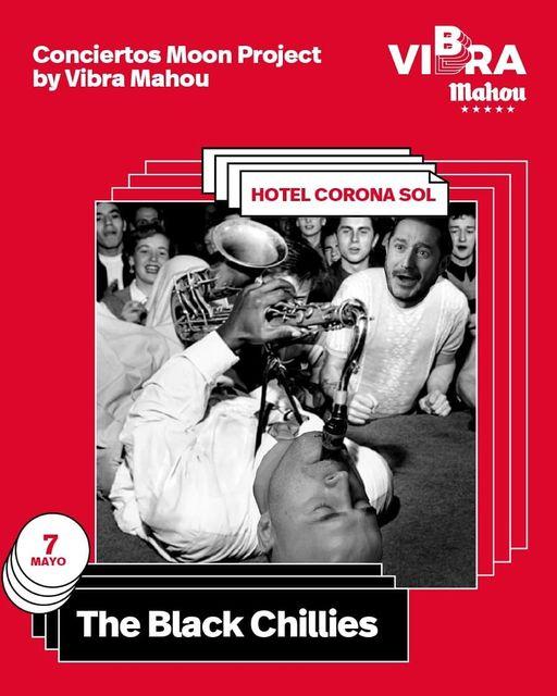 The Black Chillies -concierto en Salamanca