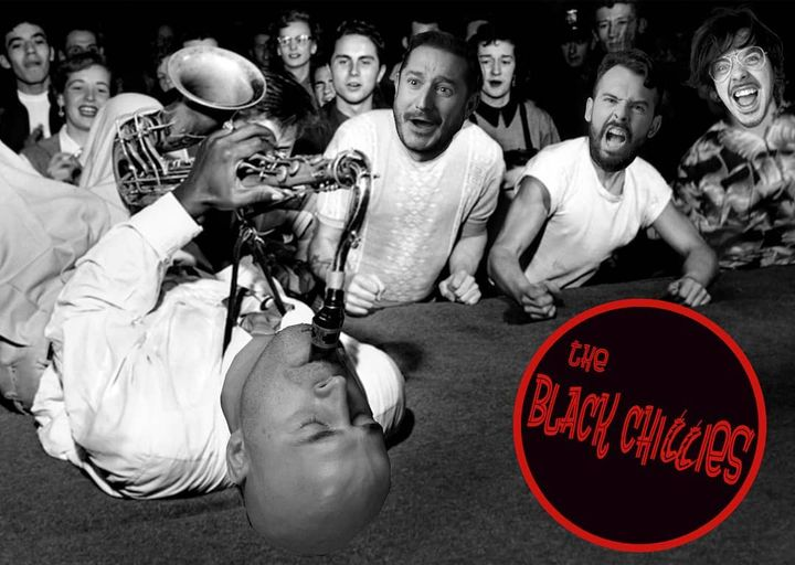The Black Chillies en plena furia musical