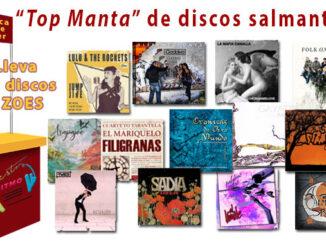Top Manta de discos salmantinos